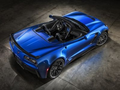 Corvette Stingray Convertible Z06 1
