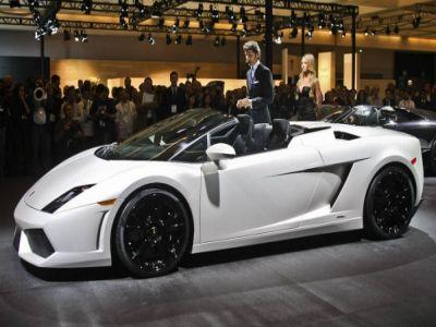 Lamborghini Gallardo Spyder Exotic Cars Houston TX - Exotic car show houston