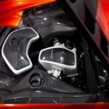 2012 McLaren MP4-12C twin-turbocharged 3.8-liter V-8 engine