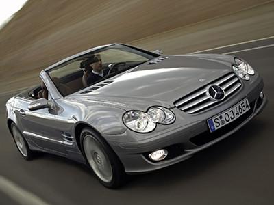 Mercedes SL550 1