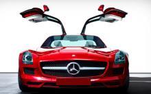 Mercedes SLS AMG 0